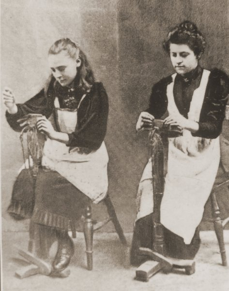 for outworkers the invention of the sewing machine in the 1850s