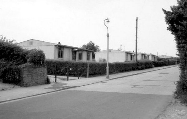 the  u0026 39 prefabs u0026 39  in larkhill road  the road was constructed to modern standards  of the day  by